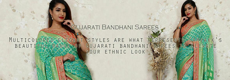 Create an alluring charisma with Samyakk's exclusive Rajasthani Sarees