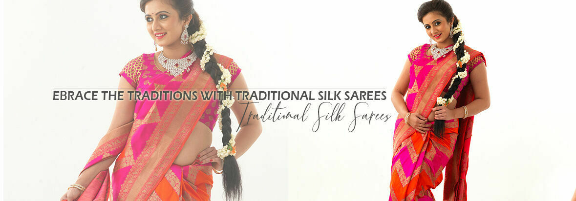 Multicolored elegant styles is what represents Samyakk's beautiful range of gujrati bandhani sarees to elevate your ethnic look.