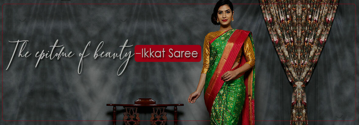 The epitome of beauty - Ikkat Designs